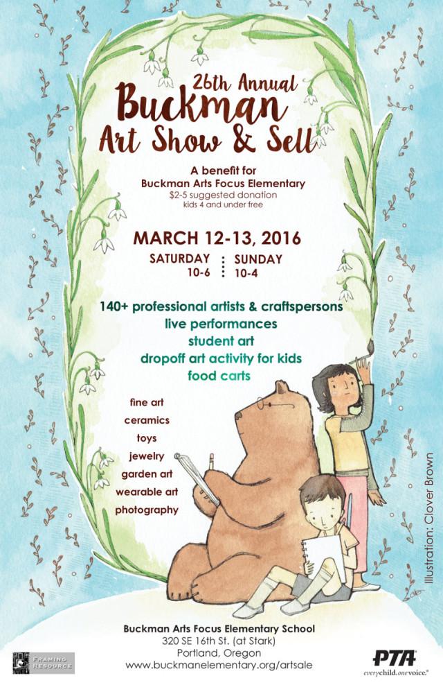 26th Annual Buckman Art Show & Sell