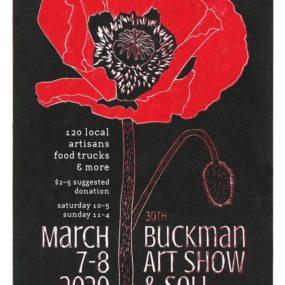 Buckman Art Show 2020 Poster