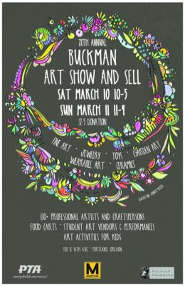Art Show and Sell 2018 Poster